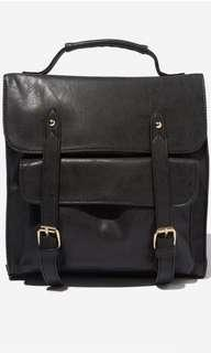 🚚 Typo soft leather backpack