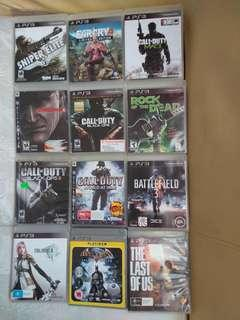 Ps3 Games  3 cd rm100