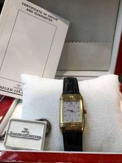 Jaeger Lecoultre Reverso Solid Gold Ladies with Diamonds