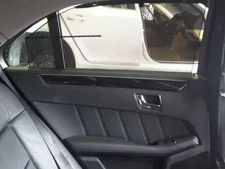 🚚 MERCEDES W212 E300 2010 REAR DOOR PANEL WITH SUN SHIELD NET RIGHT & LEFT (07484)