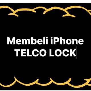 KAMI MENBELI HANDPHONE TELCO LOCK CASH ON THE SPOT IPHONE