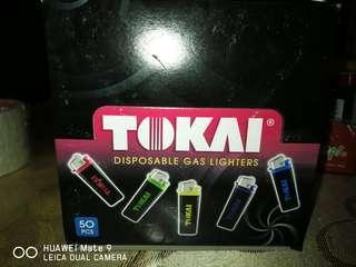 Tokai - colourful Lighters  ×50(promosi 2k19)