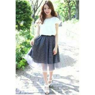 Loco chica blouse and frilly skirt tops and bottoms set tokyo Japan Shibuya 109 fashion