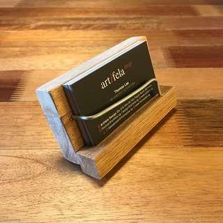 *SALES* Handmade Wooden Namecard Holder