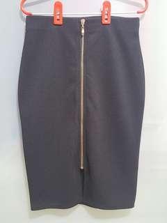 TEMT Black Pencil Skirt