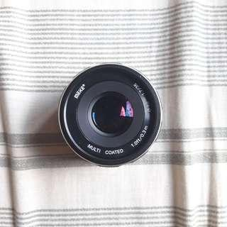 Meike Lens 35mm F/1.7 Canon EOS-M Mirrorless