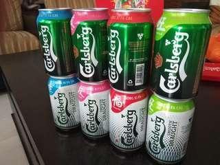 Carlsberg beer 16 cans