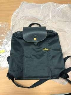 100% NEW longchamp le pliage backpack 背囊 深灰