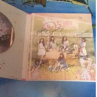 Apink Secret Garden 3rd mini album signed