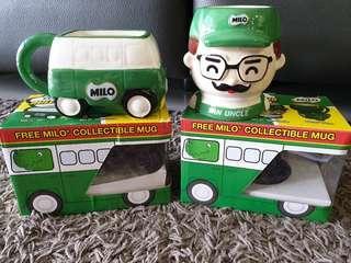 BNIB MILO Collectible Mugs