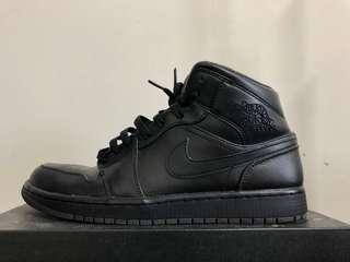 🚚 Jordan 1 皮革黑