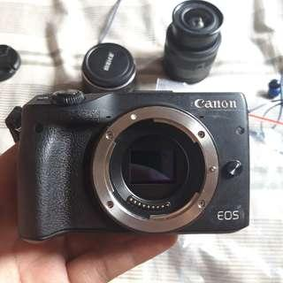 Canon EOS M3 Mati Total Body Only