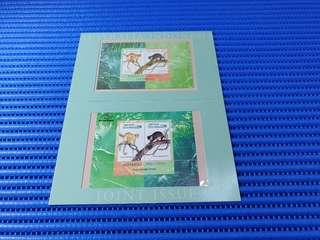Australia-Indonesia Joint Issue  Australian and Indonesian Miniature Sheet Commemorative Stamp Issue with Folder MNH