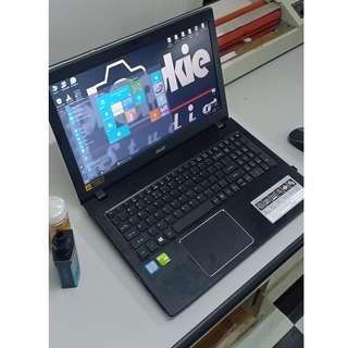 Acer Aspire E Series mid gaming laptop Intel i7 7th gen 4gig ram 2 tera hdd 2gig dedicated Nvidia