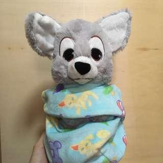 Disney soft toy Lady and the Tramp 布公仔