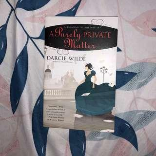 A Purely Private Matter (Darcy Wilde)