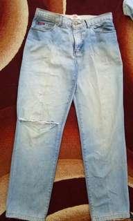 Celana sobek Lee Cooper Original