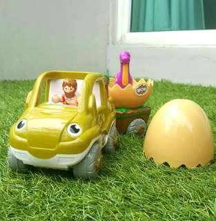 Mainan Mobil Dinosaurus