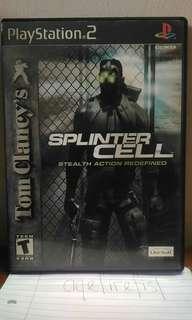 Tom Clancy's Splinter Cell Ps2