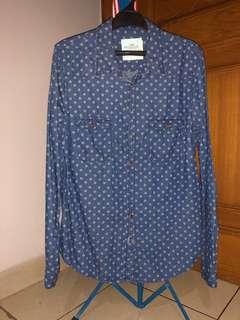 H&M Denim-pattern Shirt