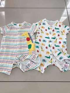 Mothercare - 2 pcs of rompers