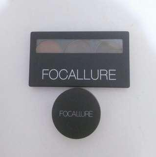 Focallure eyebrow kit gel dan pallet