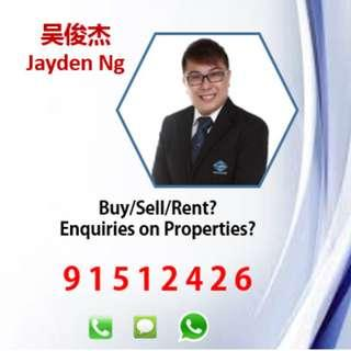 Jayden from PROPNEX , providing you with the best professional property services!