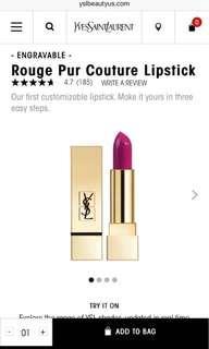YSL Mini Lipstick 迷你唇膏 #19號色 小金條