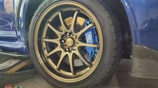 Rims and Calipers spray services