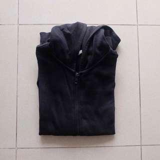 h&m kids zip hoodie size 11-12 black