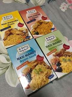 Nasi arab mandi maqlubah briyani