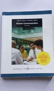 Human Communication 4th ed. Mcgraw Hill