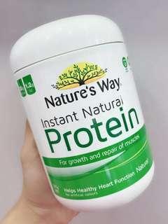 澳洲Nature' Way Protein天然速溶營養高蛋白粉375g(原味)