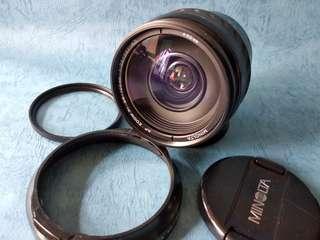 minolta xi 28-105mm 3.5-4.5lens