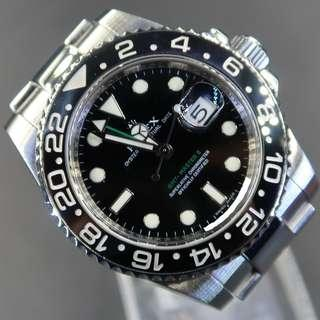 Pre Owned  Rolex GMT-Master II 116710LN  (Cash)