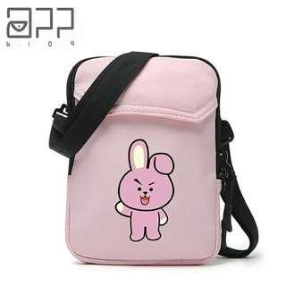 [PO] BT21 Pink Sling Bag
