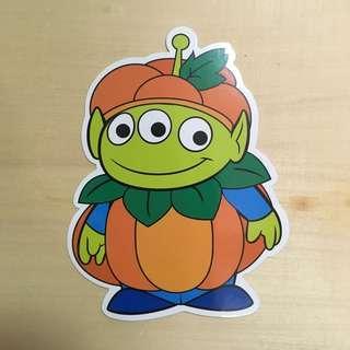 Disney postcard Toy story little green man alien 三眼仔明信片