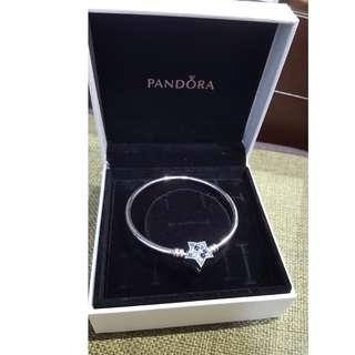 pandora 限量版 Bright Star 手鐲 冬日首飾系列 bracelet Fashion Accessories