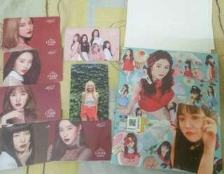 Red Velvet album and photocards