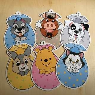 Disney Postcard Baby collection 迪士尼寶寶明信片 (6 pcs)