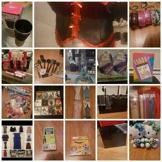 Mixed new and used items!!! Under $20