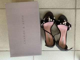 C&K Heeled Sandals (Charles and Keith)