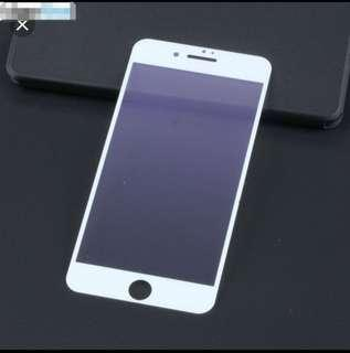 iPhone 8+ A.Blue Ray Matte Tempered Soft Scr Protector White