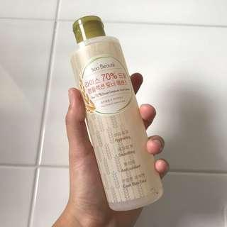 soo beaute 70% dream complexion toner essence
