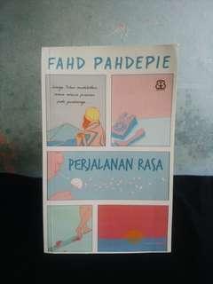 Novel Perjalanan Rasa Karya Fahd Pahdepie