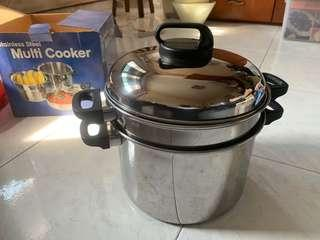 🚚 Stainless Steel Multi Cooker