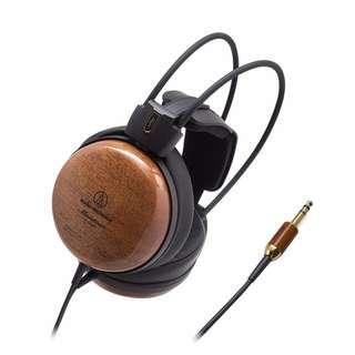 Audio Technica W1000Z Audiophile Dynamic Wooden Headphones