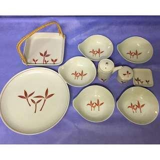Japanese Good Quality Meal Plates Set