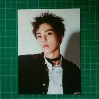 EXO XIUMIN DMUMT Official Postcard