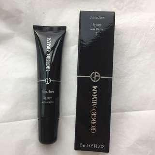 Giorgio Armani lip care 2 him/her lip balm